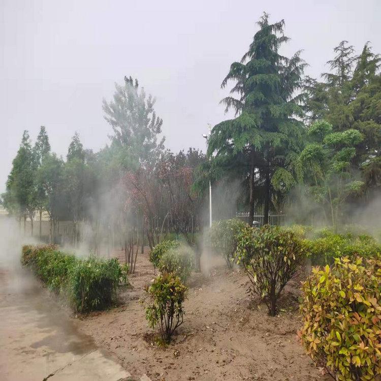 济南高压雾喷设备 高压冷雾降温设备方案