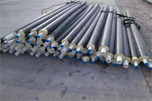 郑州市:供热用聚乙烯外壳保温管多少钱一米