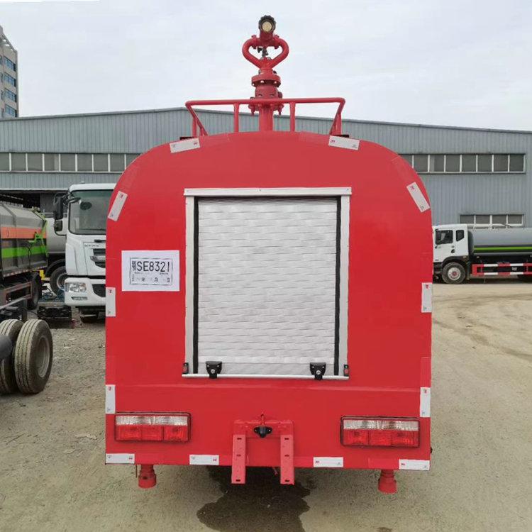 国六5方社区救火消防喷水车价格