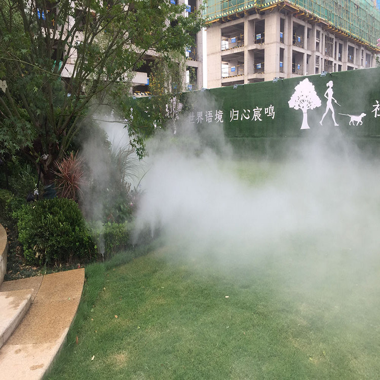 哈尔滨高压喷雾景观设备|公园人工造雾设备品牌