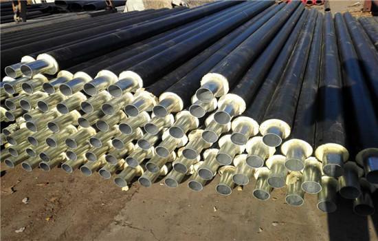 小区供暖用直埋保温钢管多少钱一根-【友浩管道】