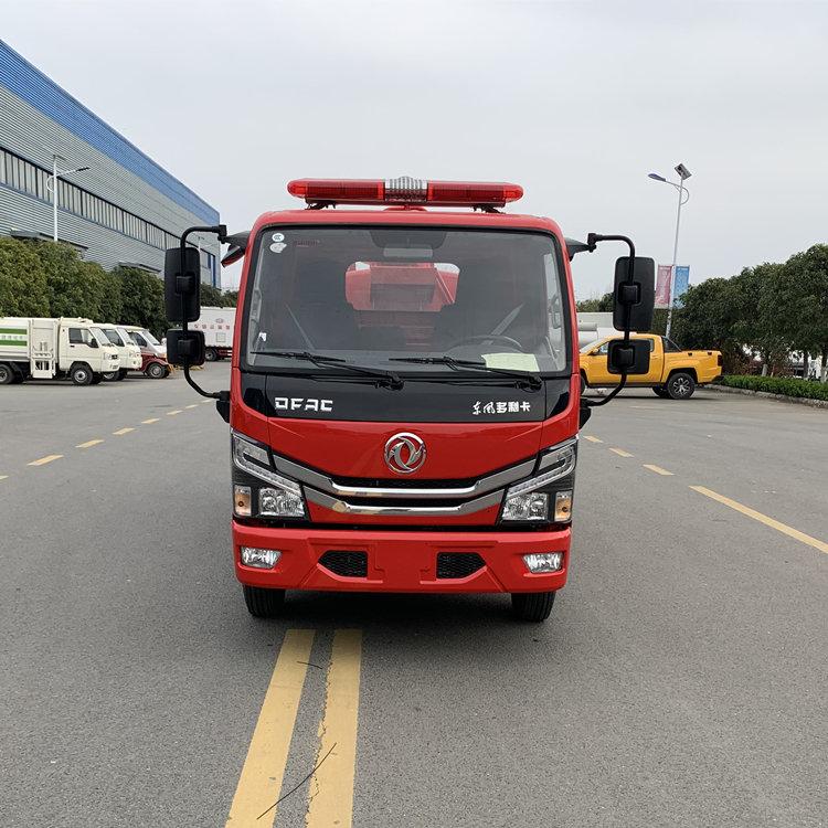 国六10吨厂区水罐消防喷洒车厂家