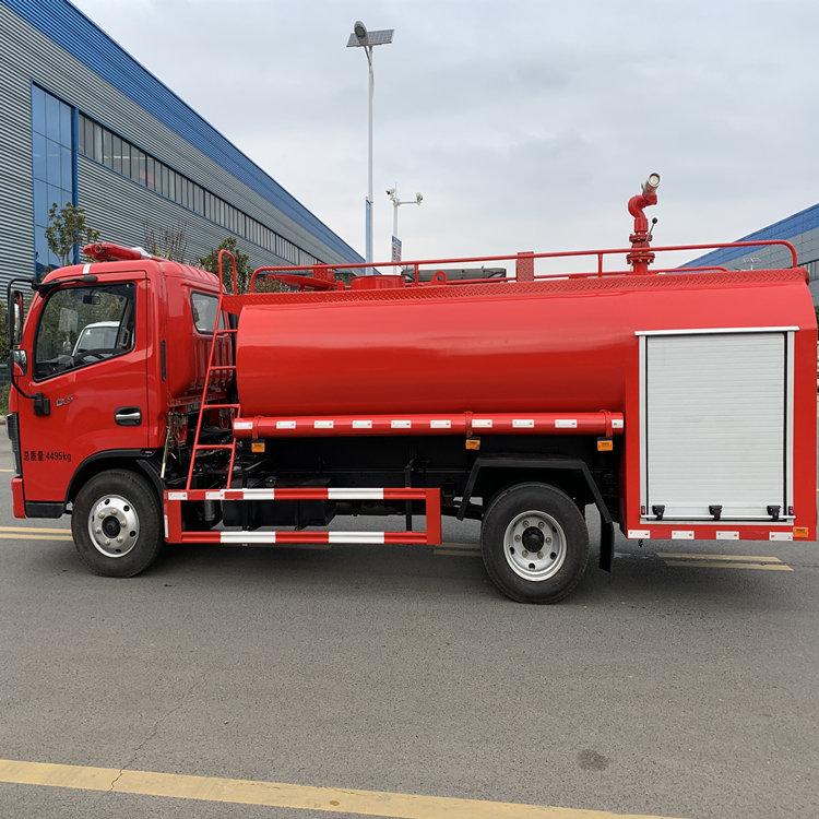 国六10吨乡村水罐消防洒水车厂家