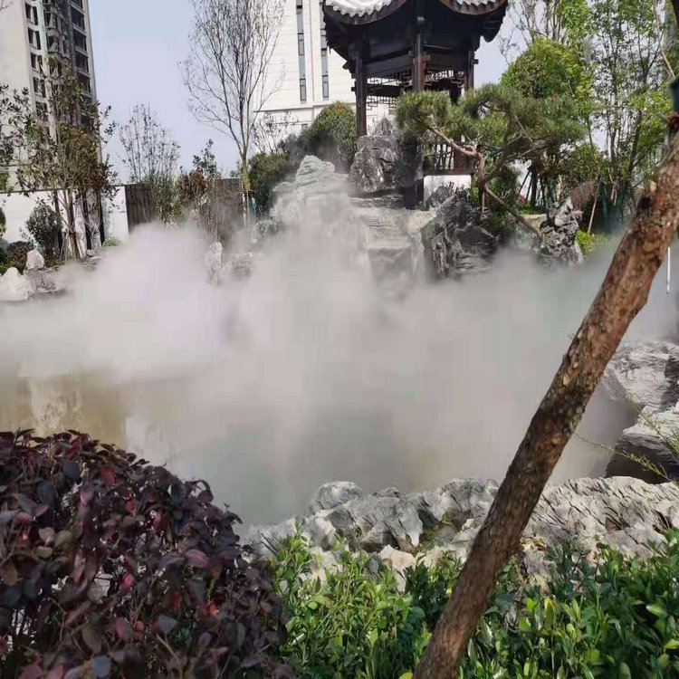 上饶高压喷雾景观设备| 别墅区人造雾设备方案