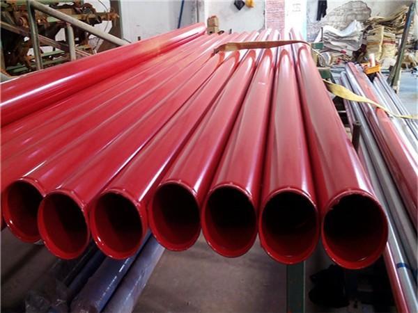 内外涂塑无缝钢管-涂塑消防复合钢管批发