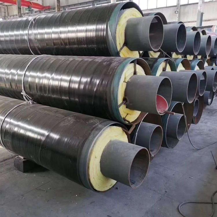 钢套钢直埋保温钢管厂家厂家拆解优化CAD图纸宜宾市
