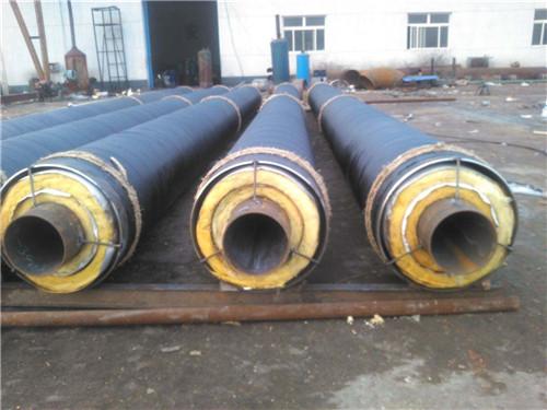 威县蒸汽钢套钢直埋保温管钢套钢实力生产厂家