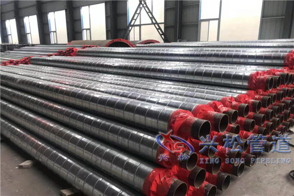 市南钢套钢保温蒸汽管机械化程度高