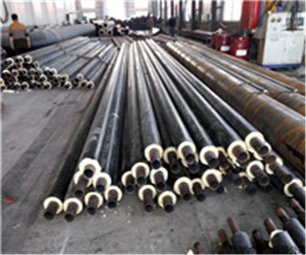 820*10螺旋焊管聚氨酯发泡保温价格