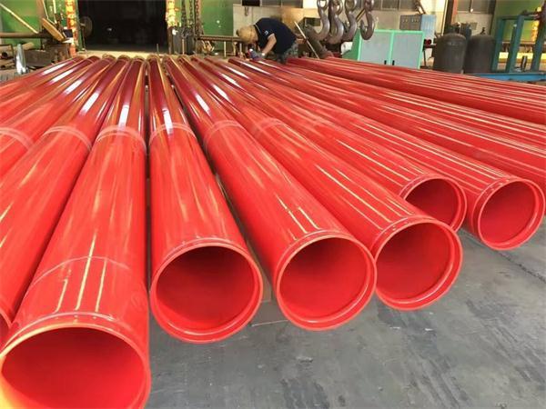 内涂塑外镀锌钢管-大口径给水涂塑钢管定制