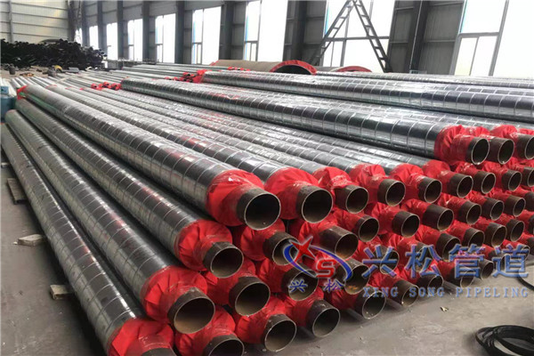 潮州钢套钢保温蒸汽管机械化程度高