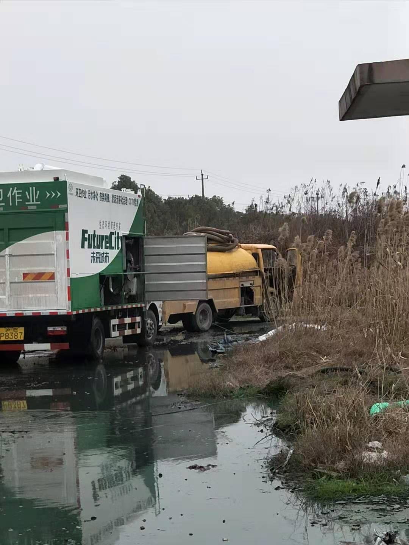 诚信服务:高邮市高邮街道大型污水池清理找鹏远环保