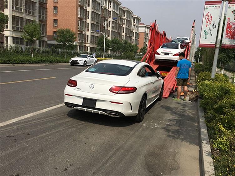 石家庄到杭州轿车拖运@直达拖车