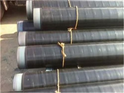 山西省临汾市缠绕式燃气管道用三层PE防腐钢管厂家