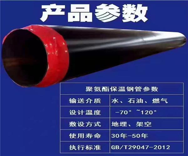 1020mm聚氨酯夹克保温管市场行情价格驻马店市