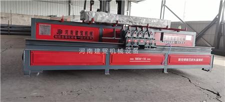 衢州全自动钢筋五机头弯箍机多少钱一台