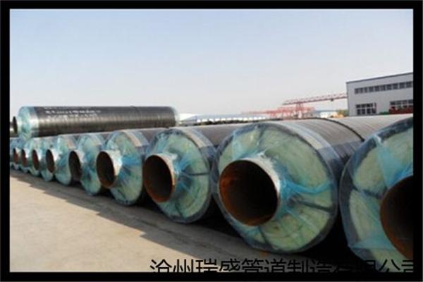 钢套钢硅酸铝蒸汽保温钢管福建省哪里有(友浩管道)