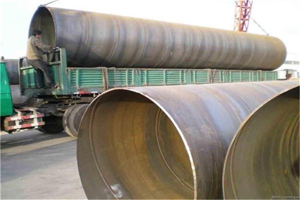 河池市化工厂排污用螺旋钢管防腐生产工艺