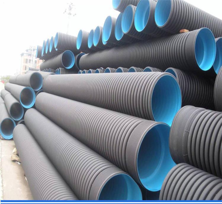 贵州黔西南双壁波纹排水管SN4和SN8供应厂