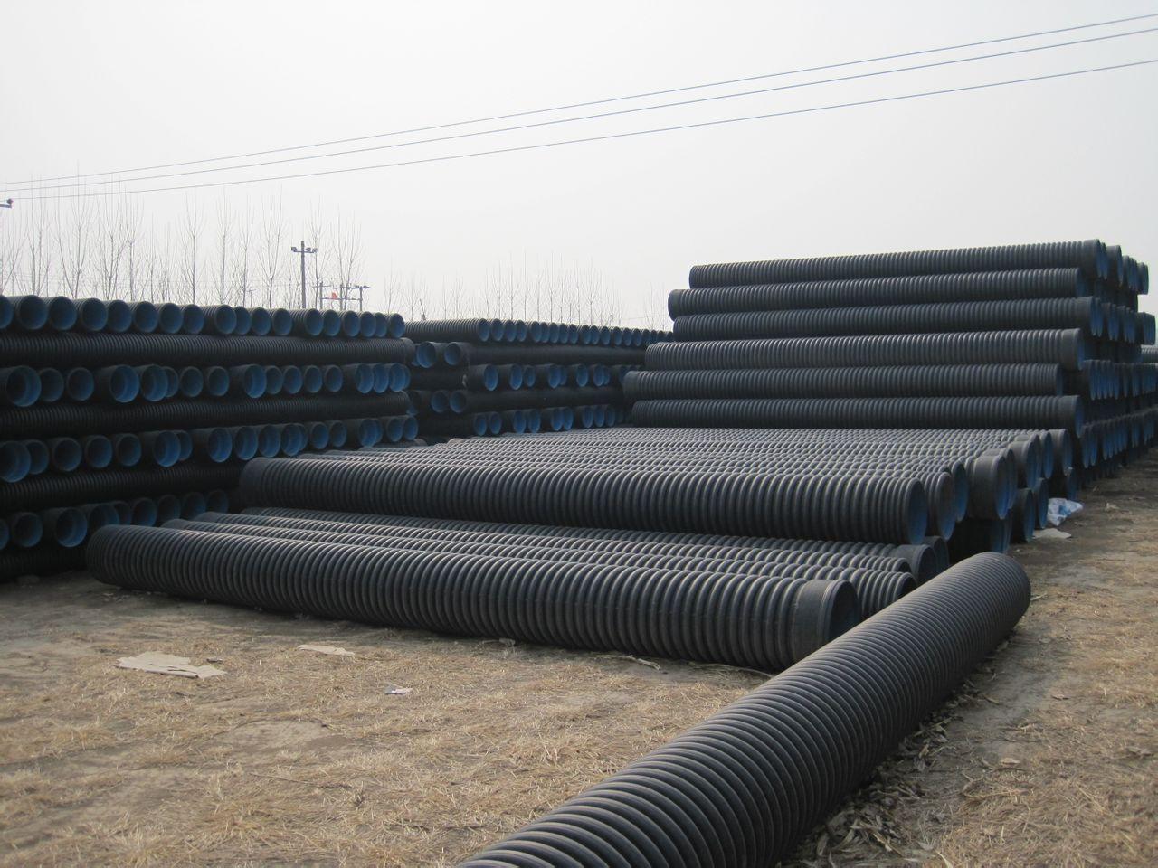 广东揭阳排水HDPE双壁波纹管厂家「管网建设采购」