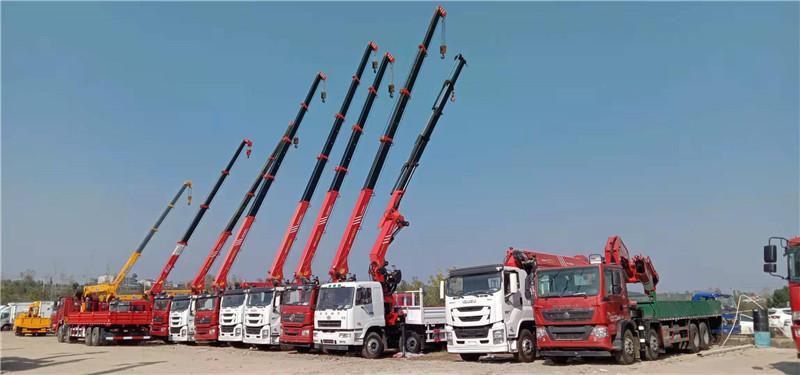 鄂尔多斯市前四后八16吨随车吊多少钱一台
