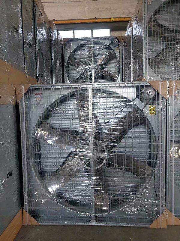 文山广南风机上的镀锌圆形法兰参数