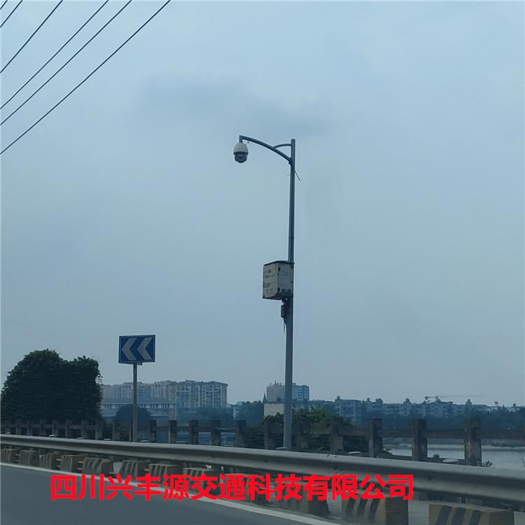 乐山市犍为县地铁轨道智能告警监控立杆4米监控立杆包运输包卸货