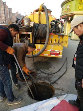 广宗县管道封堵&污水外运大型设备