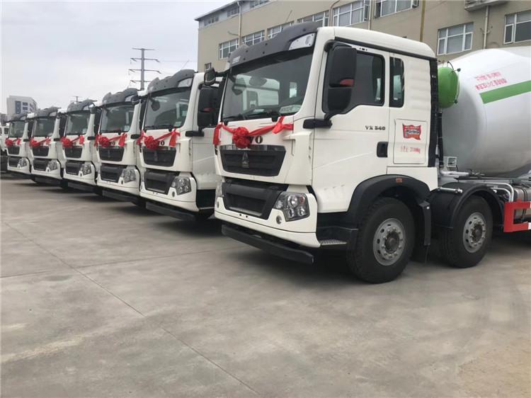 国六10方商砼混凝土罐车桂林市配置价目表