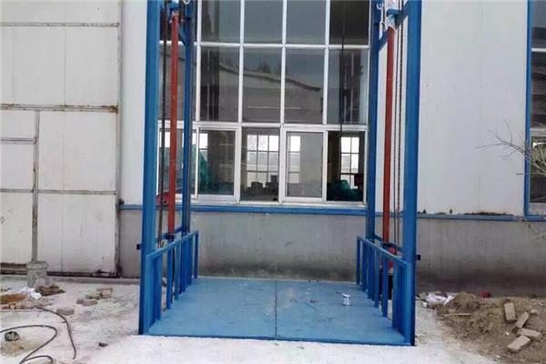 台州市室内外链条简易导轨式升降货梯/多/图