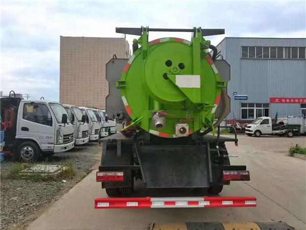 兴安盟3吨清洗吸污车厂家