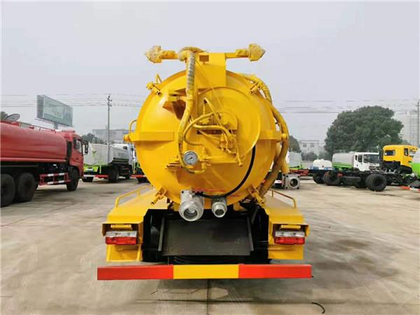 重庆市小区化粪池清理车厂家