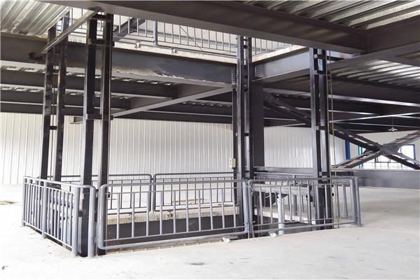 襄阳市货梯升降机液压防坠落/导轨式升降梯台/安全可靠