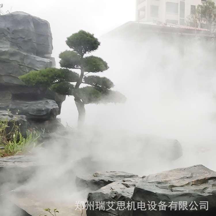 遂宁小区人工造雾设备报价