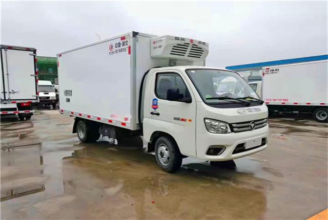 双鸭山陕汽6米8冷藏车前景趋势