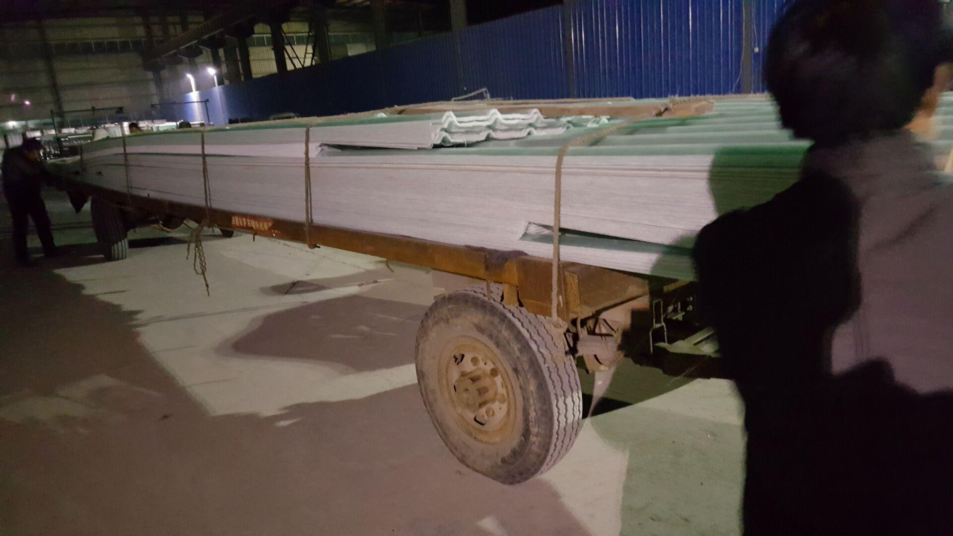 涿鹿县玻璃钢透明瓦组图