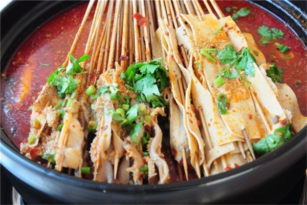 河南郑州新密小吃培训铁板烤鸭肠哪家可靠