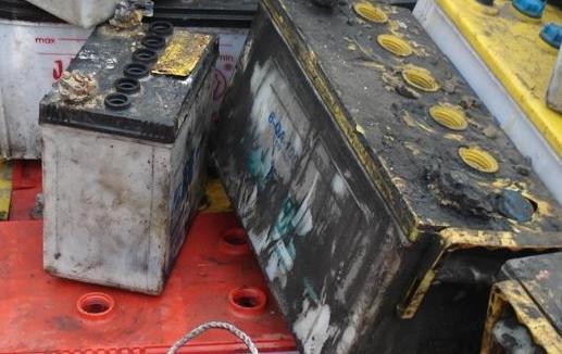 珠海市香洲区二手电池回收报价表 多少钱一斤