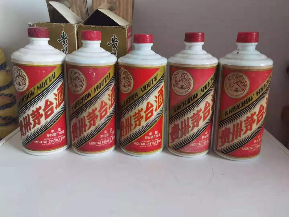 嘉善县回收铁盖茅台酒价格-明码标价