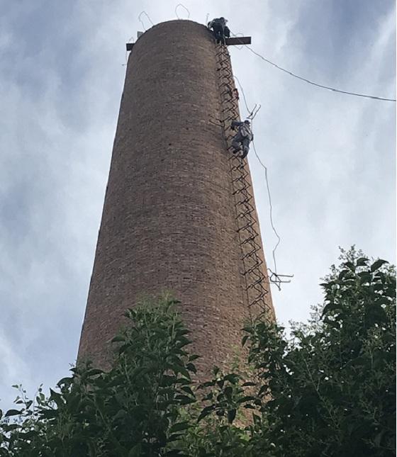 延吉烟囱拆除-拆烟囱企业技术文献