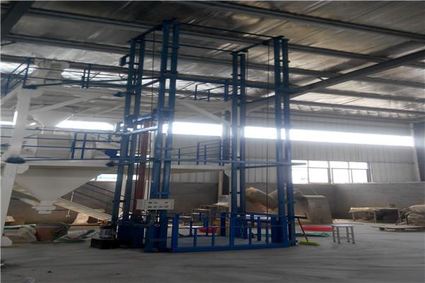海兴县工厂仓库家用大小型液压链条导轨式货梯