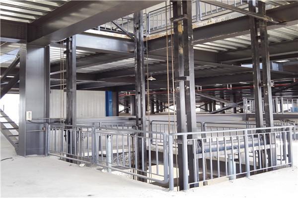 定州市厂家定制导轨式升降货梯