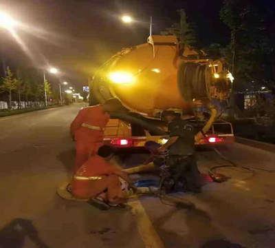 拨打:上海金山卫镇小区排污管道清理专业团队