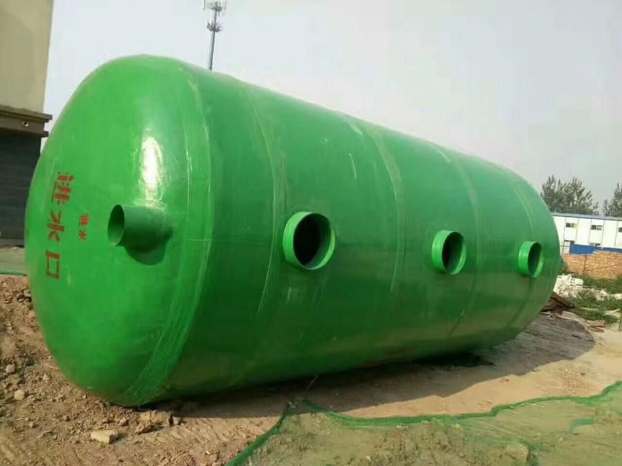 海口玻璃钢化粪池厂家安装简便