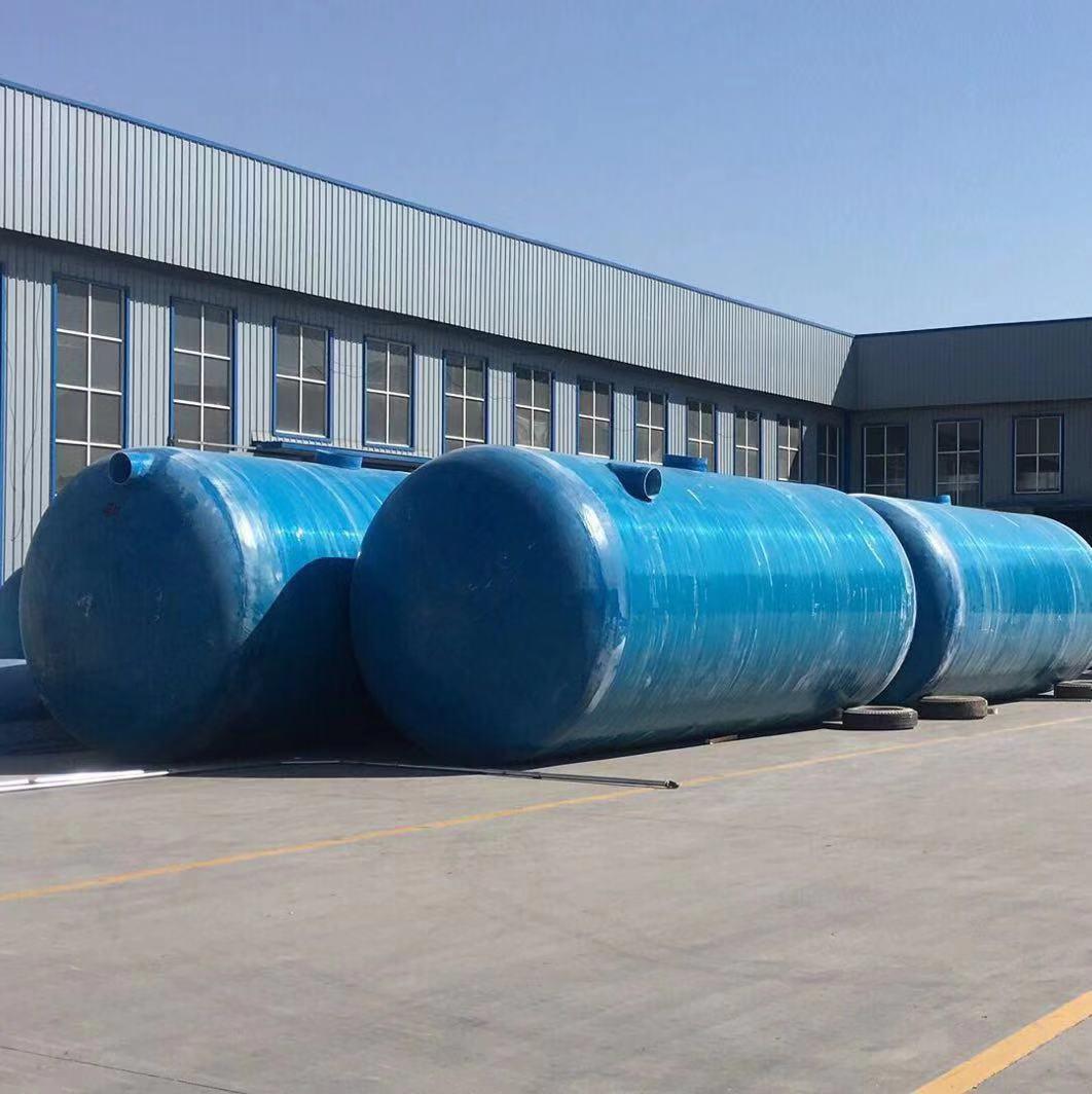 梧州玻璃钢树脂一体式化粪池厂家就发货