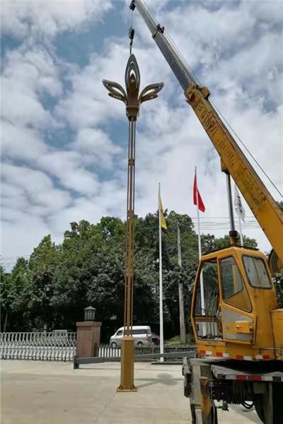 楚雄彝族自治州地方特色监控杆,交通信号灯灯杆_定制加工