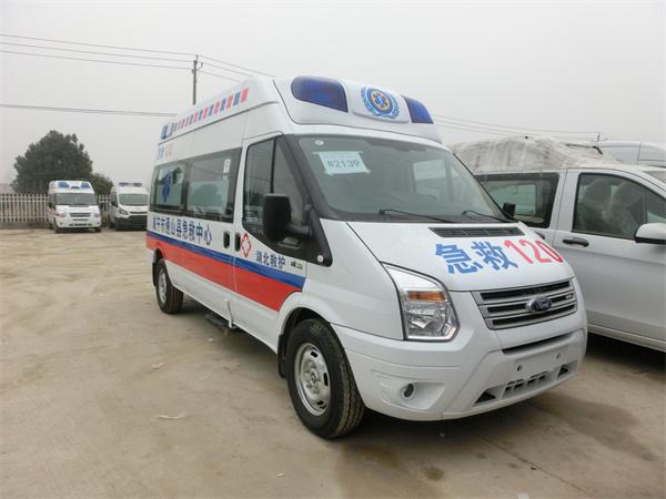 安徽池州江铃福特V362救护车厂家常用车型推荐