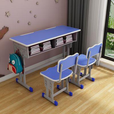 双人连体课桌椅-中卫-双人连体课桌椅厂家