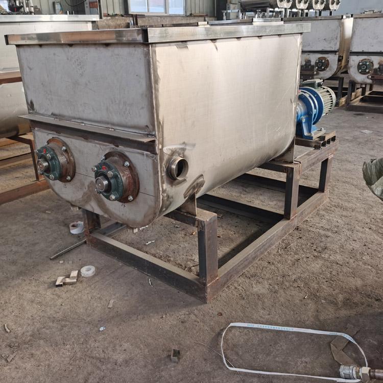 山西4-6袋洗面机和面双螺旋洗面机 40袋半自动洗面筋机
