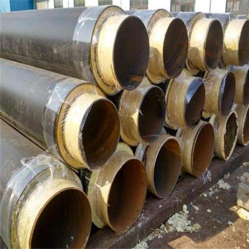 陕西820玻璃钢缠绕式保温钢管每米价格是多少